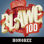 Blawg 100 nominee badge